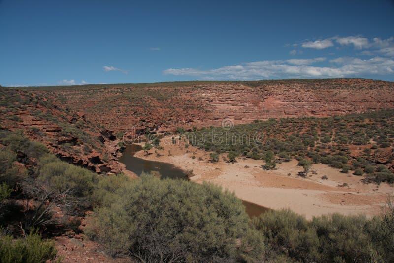 Murchison-Fluss- Australien stockfoto