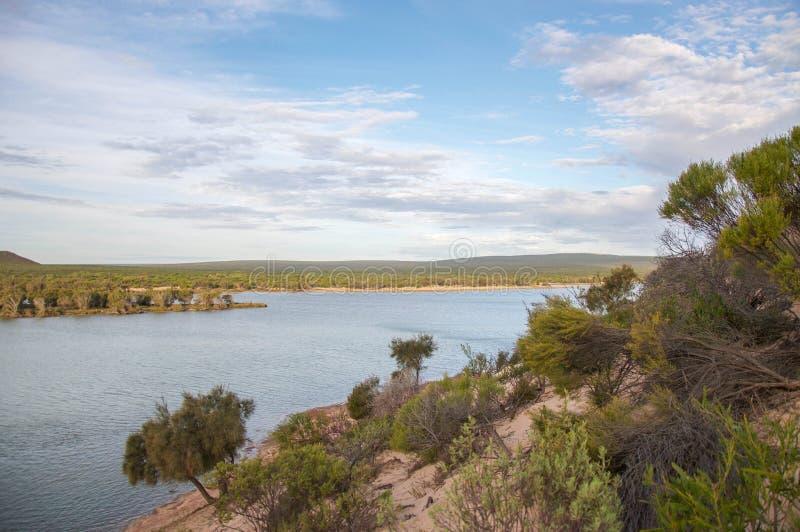 Murchison-Fluss: Dünen-Ansichten lizenzfreies stockfoto