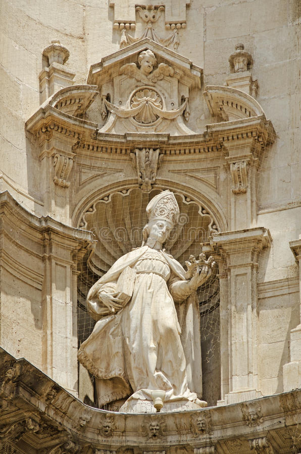 Murcia-Kathedrale lizenzfreies stockfoto