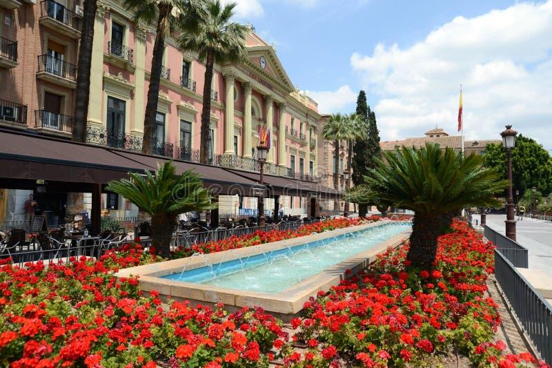 Murcia. Spanje stock afbeelding