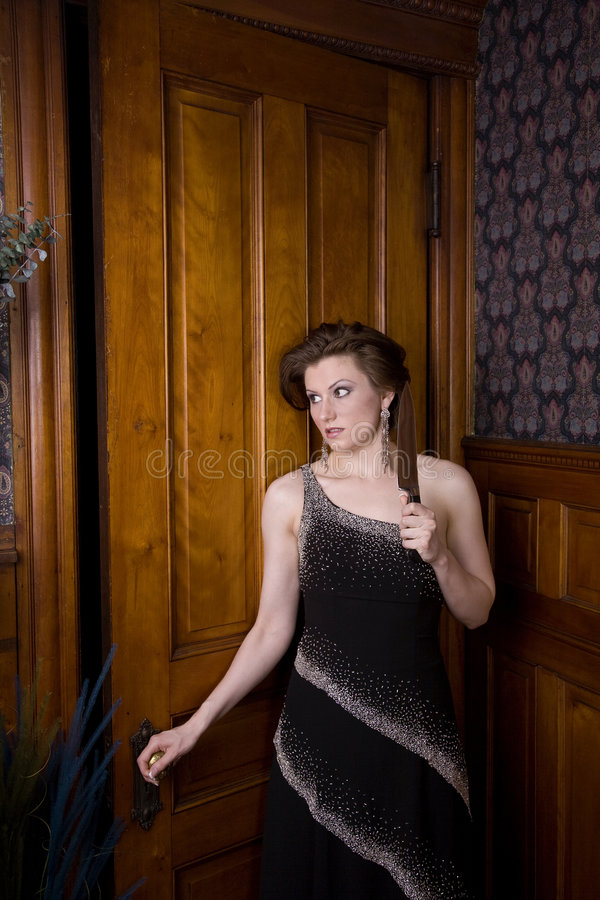 Download Murder mystery! stock image. Image of evening, open, hair - 2659019