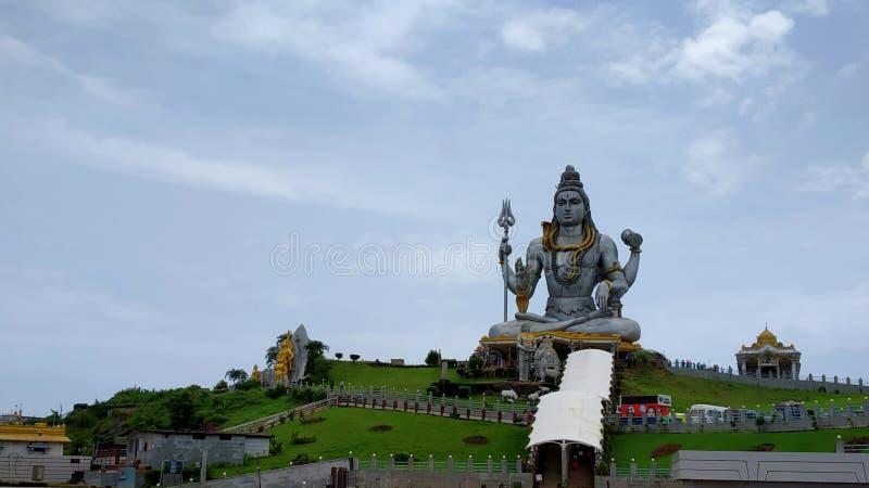 Murdeshwartempel in Karnataka stock afbeeldingen