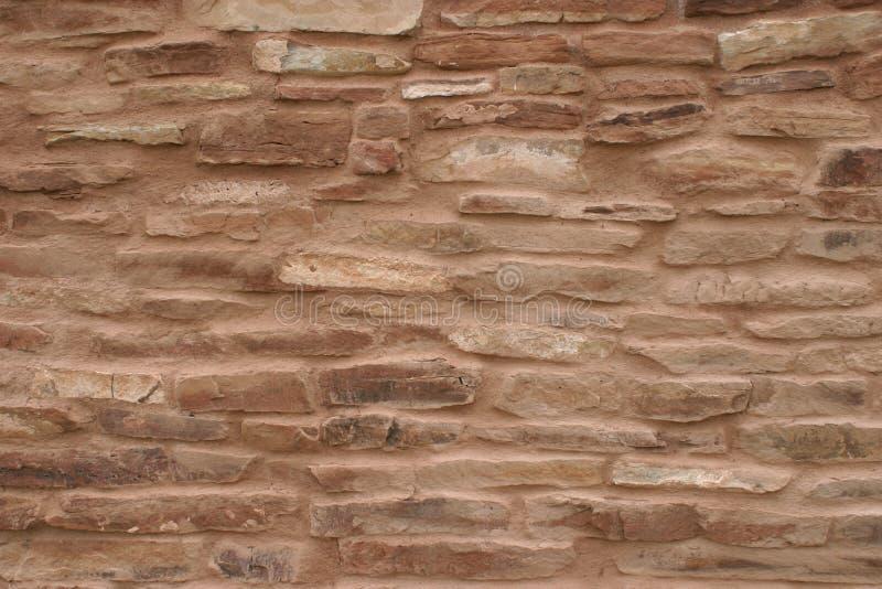 Mure o close up da missão em Abo Pueblo, New mexico fotos de stock royalty free