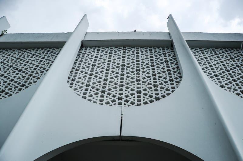 Murez le détail à la mosquée d'état de Perak dans Ipoh, Perak, Malaisie photos libres de droits