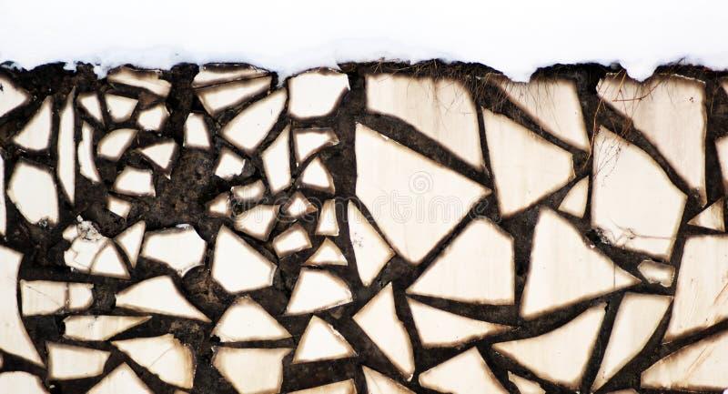 Murez le fond, blanc et noir, résumé photo libre de droits