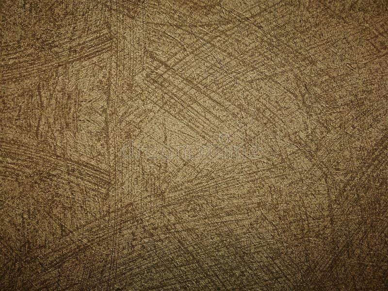 Murez les milieux de couleur d'or de ciment et les textures légers, idée de concept d'idée images libres de droits