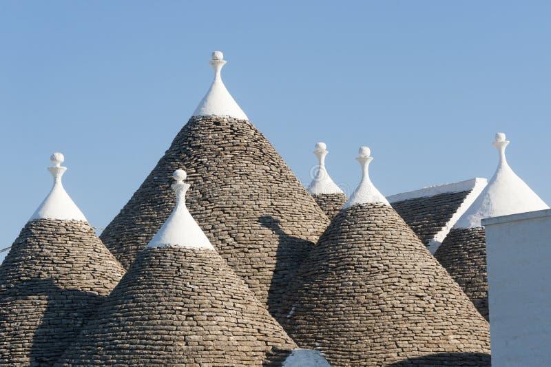 Murge (Apulia, Italia) - Trulli fotos de archivo