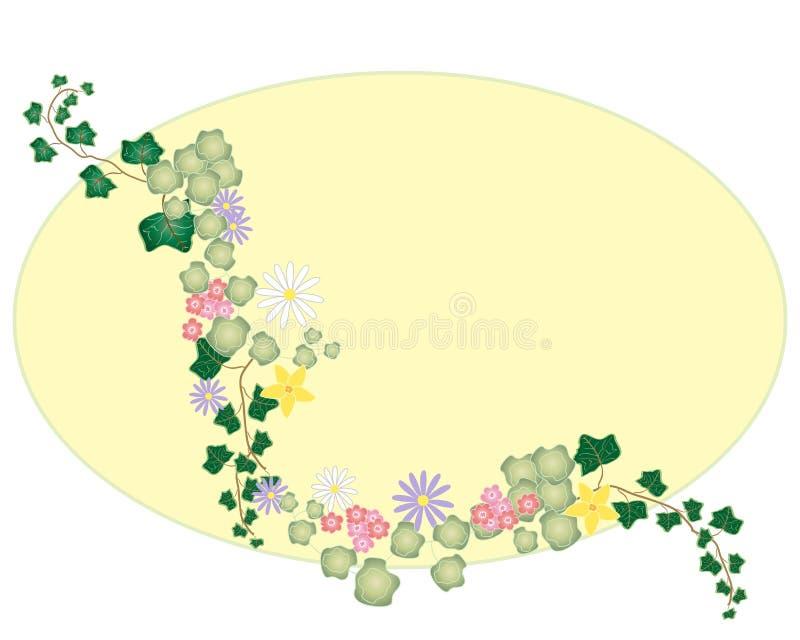 Murgrönadesign royaltyfria foton