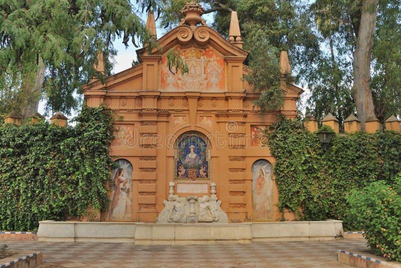 Murillo gardens royalty free stock photo