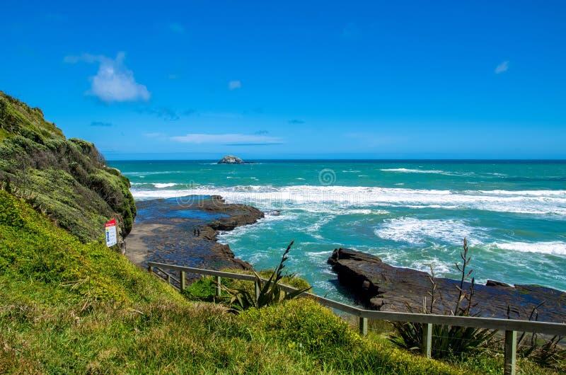 Muriwai地方公园 免版税图库摄影