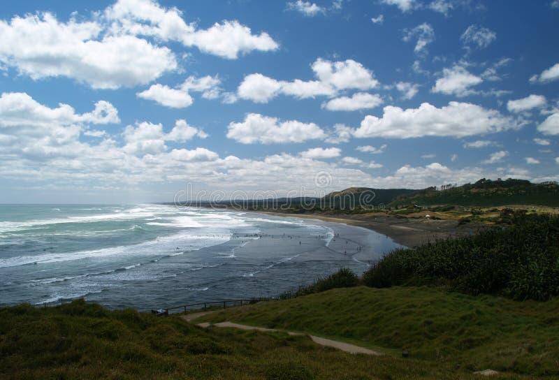 Muriwai beach royalty free stock image