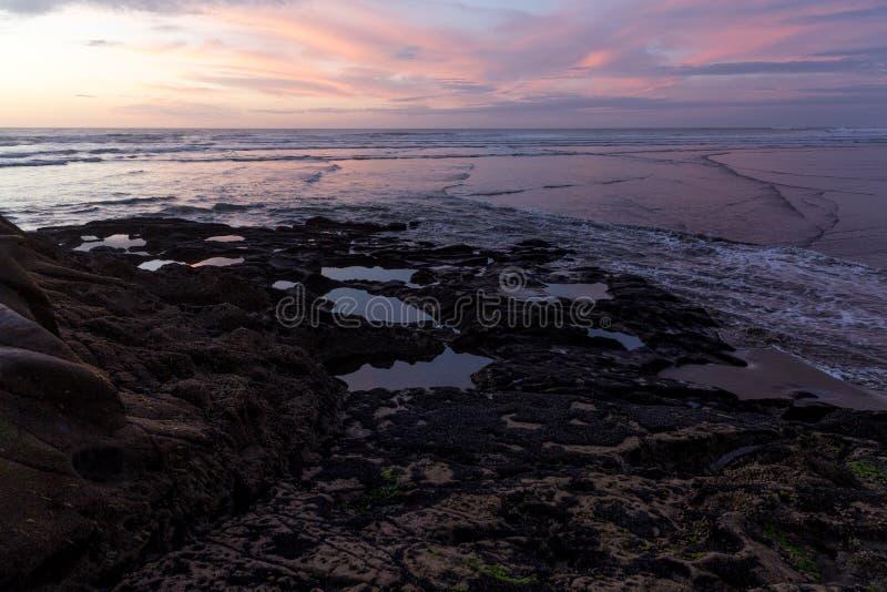Muriwai Strand stockfoto
