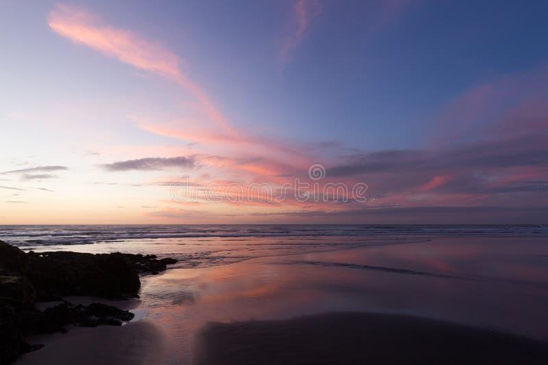 Muriwai Strand stockfotos