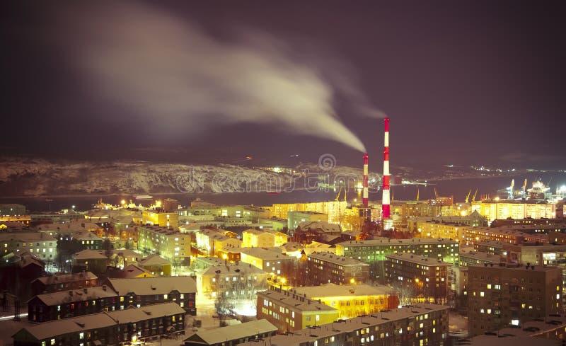 Murmansk royaltyfri bild