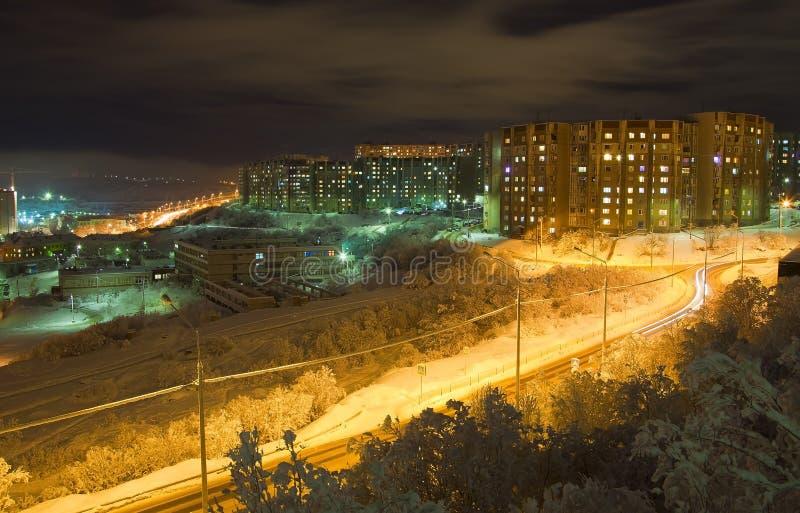 Murmansk royaltyfri foto