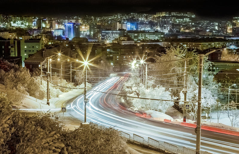 Murmansk royalty free stock photo