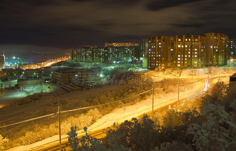 Murmansk royalty free stock photo