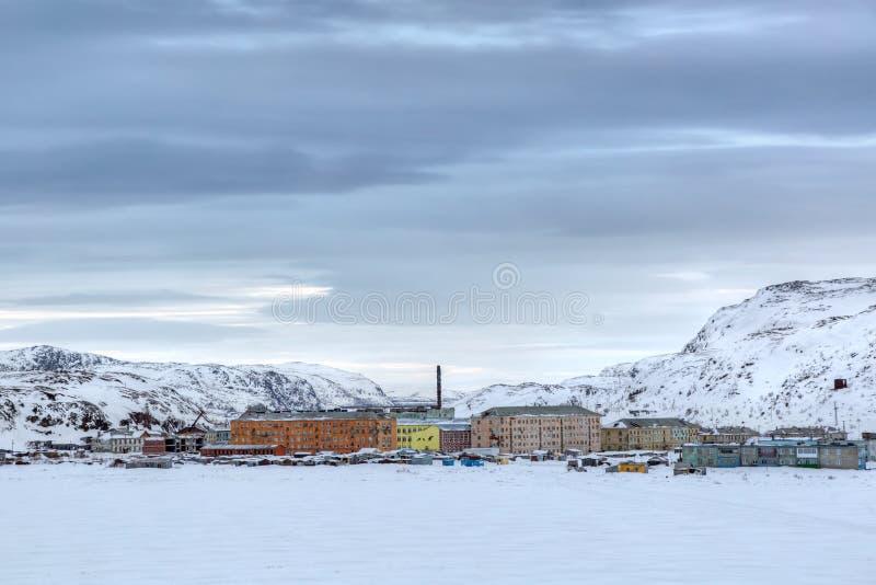 Murmansk oblast arkivbilder
