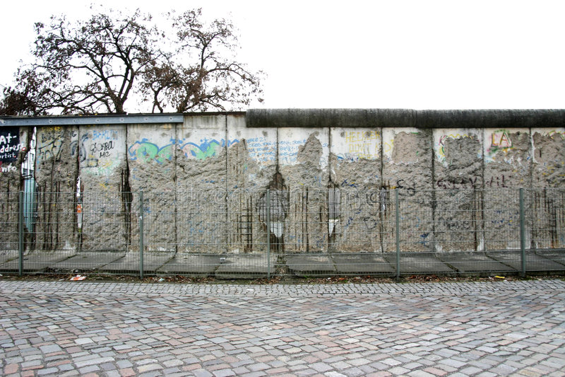 Muro de Berlín fotografía de archivo