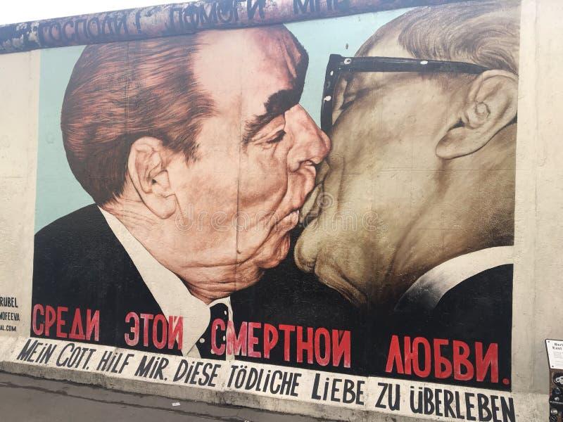 Muro de Berlín imagen de archivo libre de regalías