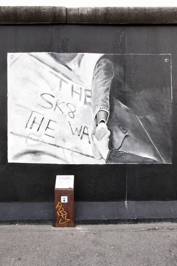 Muro de Berlín fotos de archivo