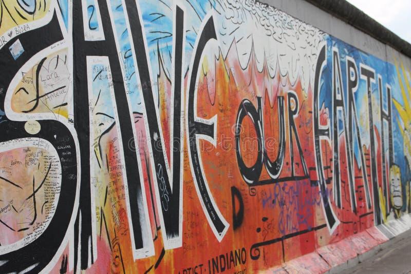 Muro de Berlín foto de archivo