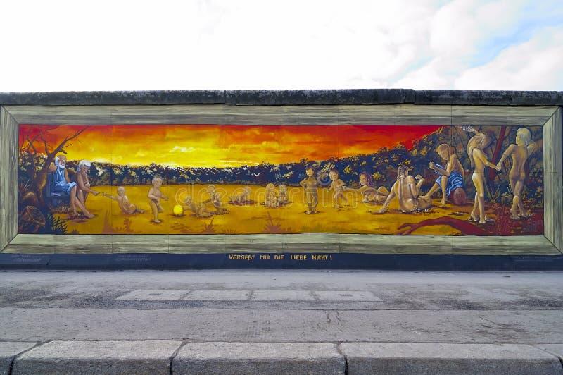 Muro de Berlín, Alemania imagenes de archivo