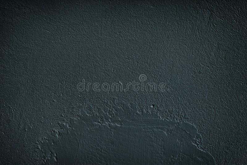 Muro de cemento áspero negro del grano - fondo oscuro del grunge imagenes de archivo