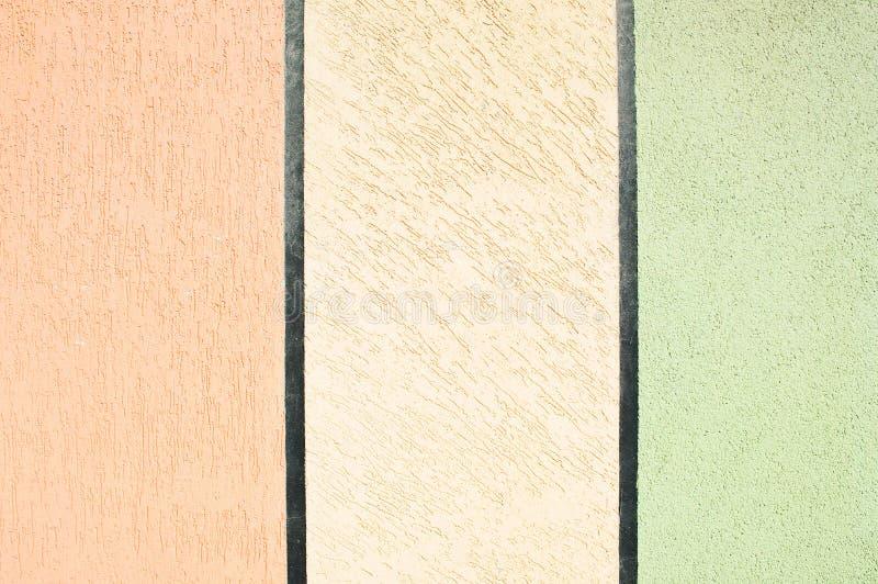 Muro de cemento coloreado imagenes de archivo