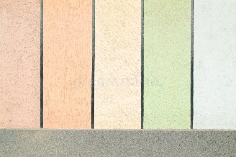 Muro de cemento coloreado fotografía de archivo libre de regalías