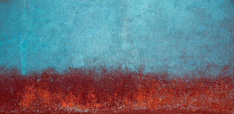 Muro de cemento del Grunge con el molde en él foto de archivo