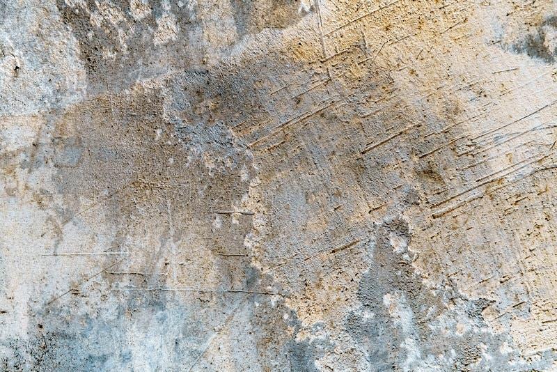 Muro de cemento del Grunge con la iluminación coloreada foto de archivo