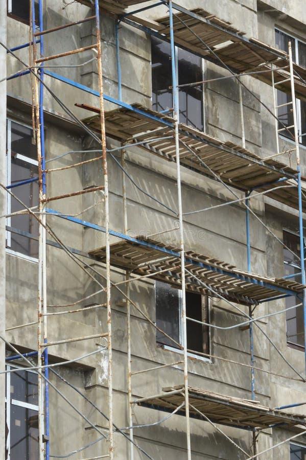 Muro De Cemento Desnudo Sin Revestimiento En Una Nueva Casa Imagen ...