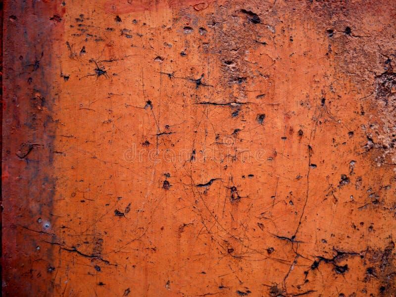 Muro de cemento rojo imagen de archivo
