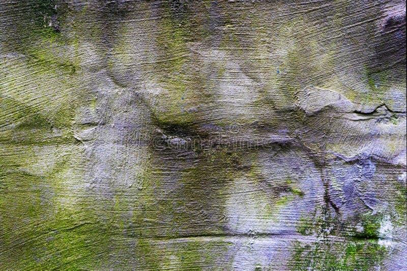 Muro de cemento viejo, multicolor foto de archivo libre de regalías