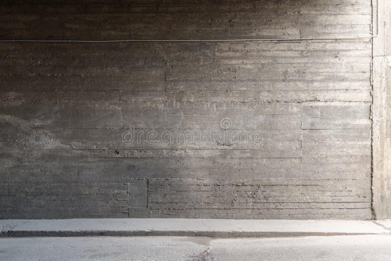 Muro de cemento y suelo foto de archivo libre de regalías