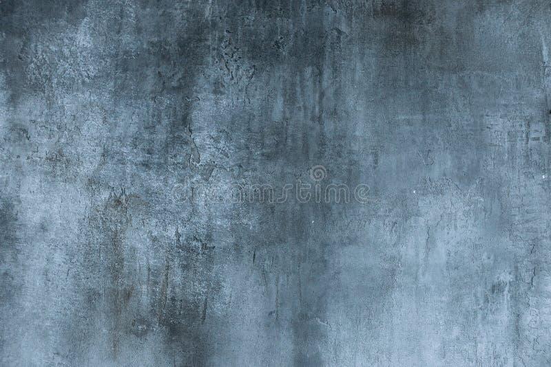 Muro de cimento cinzento, textura do estuque fotos de stock