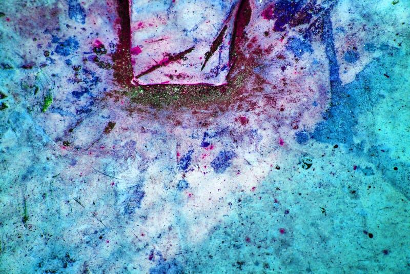 Muro de cimento vívido coral de vida da cor, superfície de pedra fotos de stock royalty free