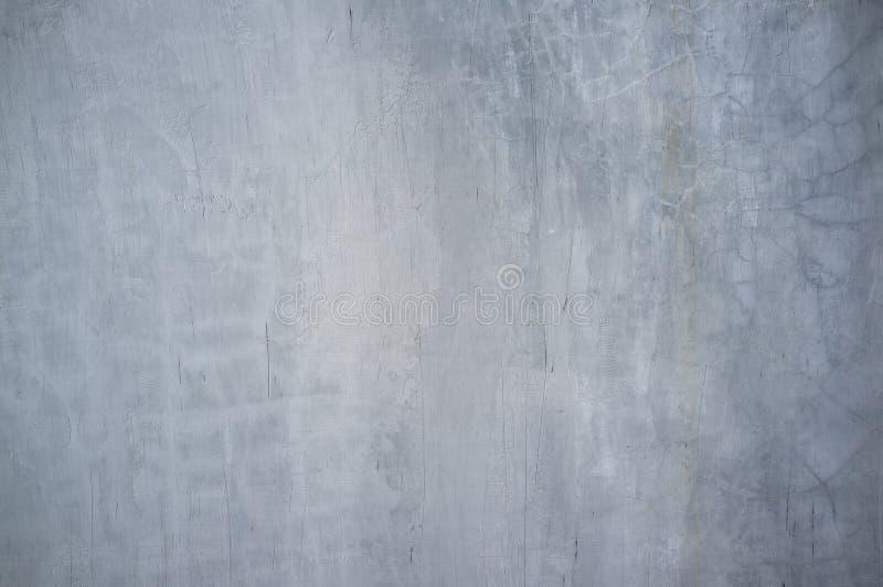 Muro de cimento velho manchado e gasto com o molde azulado da cor imagens de stock royalty free