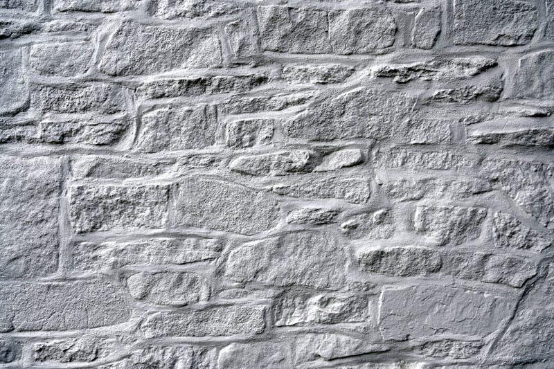 Muro de piedra de campo gris fotografía de archivo