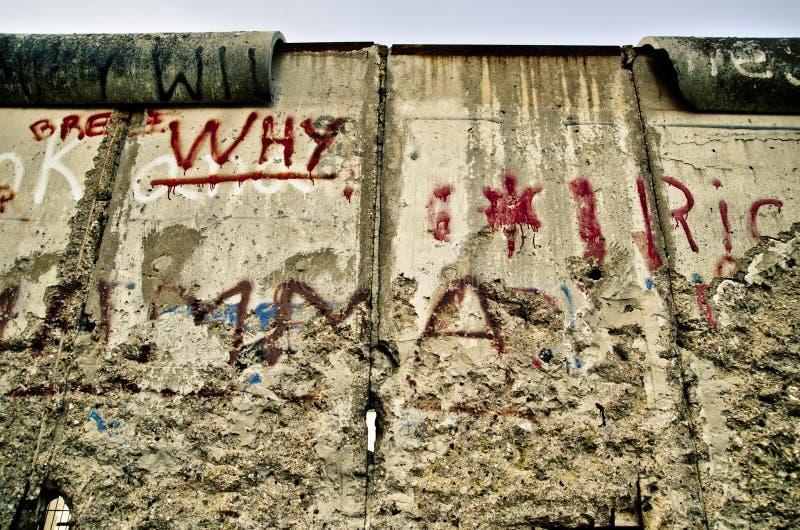 Muro di Berlino fotografia stock libera da diritti