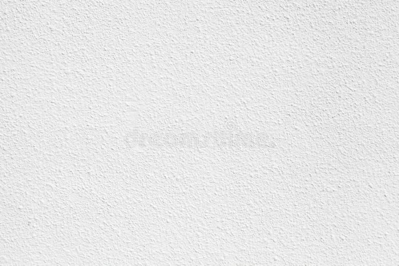 Muro di cemento bianco con gesso Struttura della priorità bassa fotografia stock libera da diritti