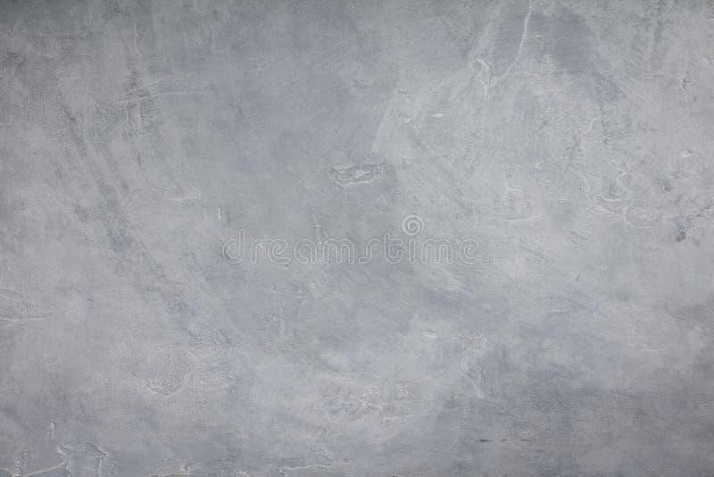 Muro di cemento di colore grigio chiaro, fondo di struttura del cemento fotografia stock