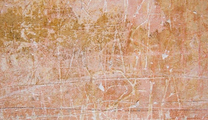 Muro di cemento dell'annata fotografie stock libere da diritti