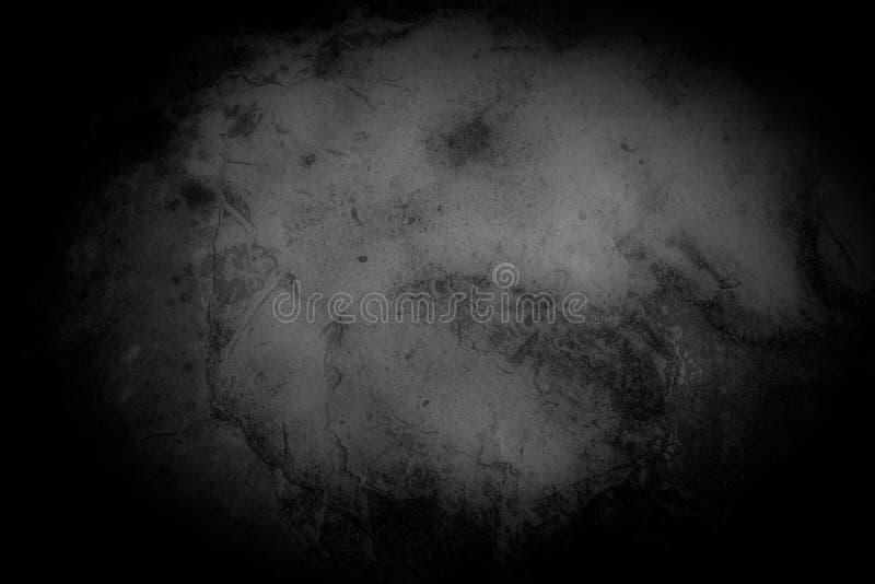 Muro di cemento e pavimento di Grung come struttura del fondo fotografia stock