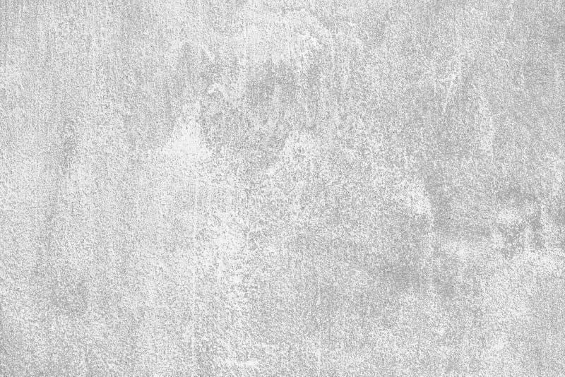 Muro di cemento grigio chiaro fondo grigio neutrale Modello d'annata di stile Effetto di lerciume Vecchia superficie di marmo del fotografia stock libera da diritti