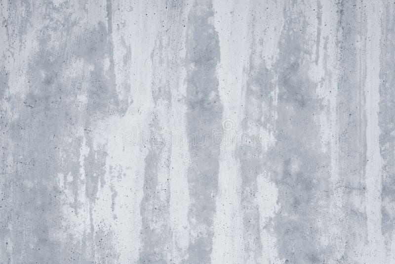 Muro di cemento grigio in gesso bianco Acquerello astratto del modello grigio Fondo di lerciume nello stile dell'acquerello Strut fotografia stock libera da diritti
