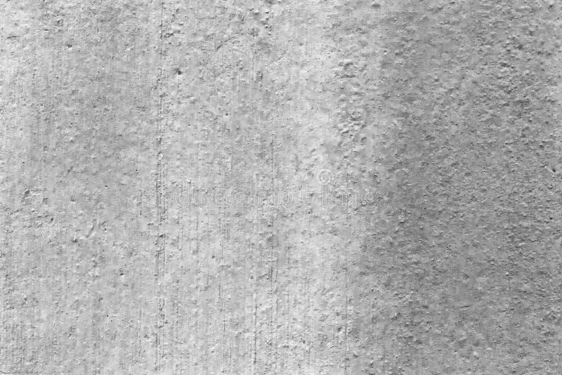 Muro di cemento intonacato pittura grigia, struttura, fondo fotografia stock