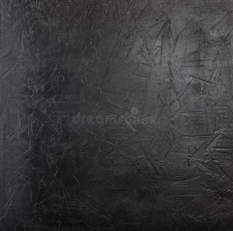 Muro di cemento nero fotografia stock