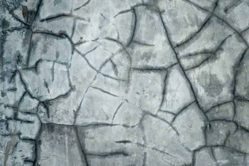 Muro di cemento rotto immagine stock libera da diritti